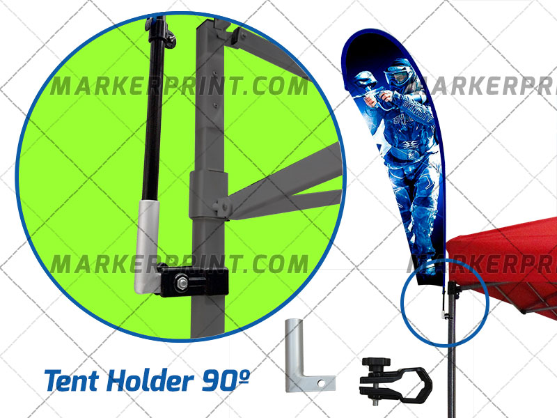 Base Bandera Tent Holder 2