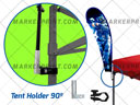 Base Bandera Tent Holder